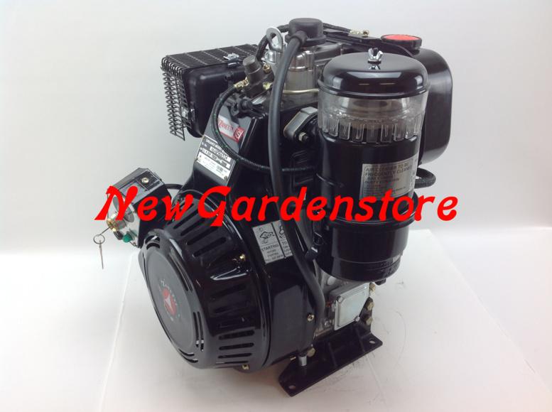 moteur diesel motoculteur zanetti s510f